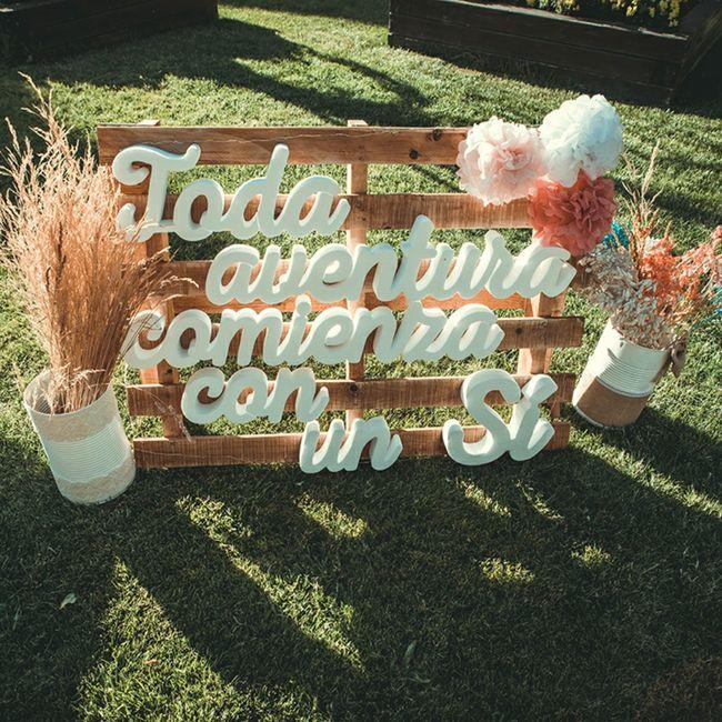 Regalos y decoración para boda 18