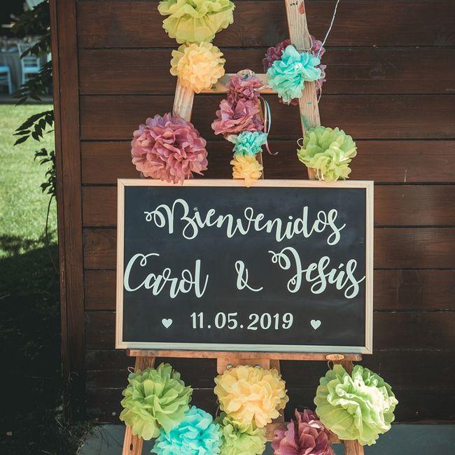 Regalos y decoración para boda 22