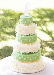 Bodas en color blanco y verde 24