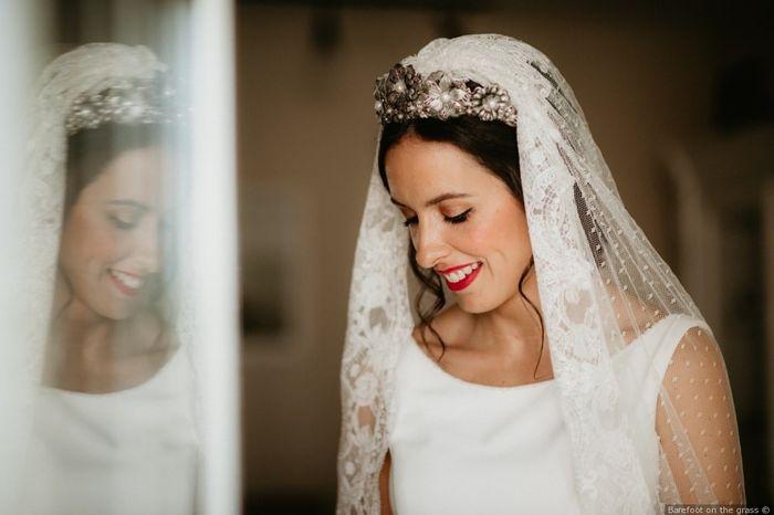 Look de novia: ¿con o sin velo? 1