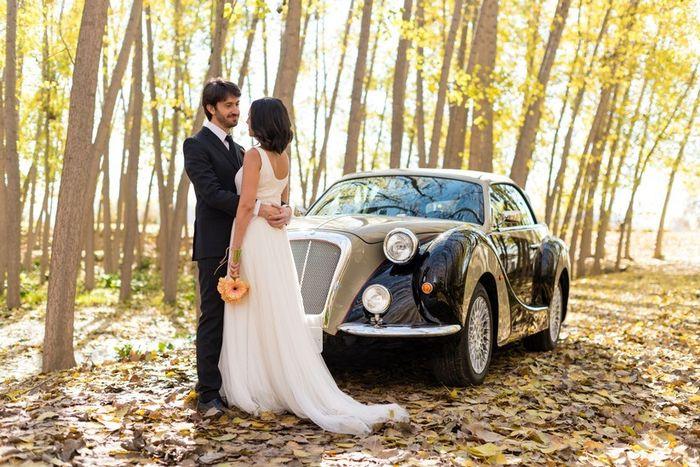 El coche de boda: ¿Clásico o moderno? 1