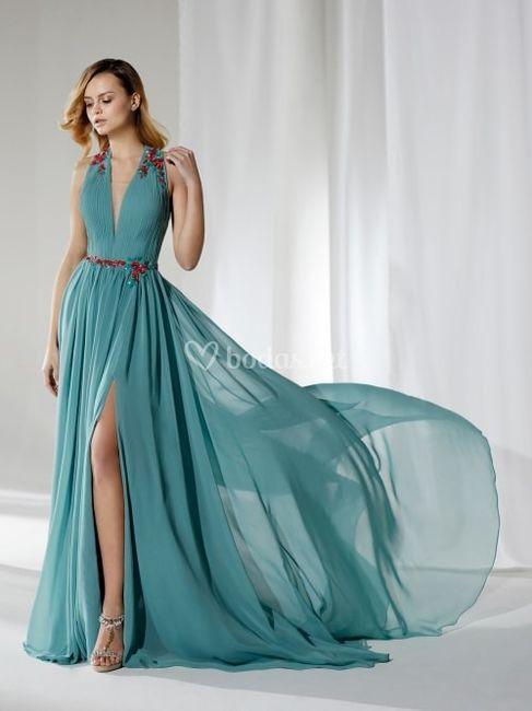 Si fueras invitada... ¿te pondrías este vestido? 1