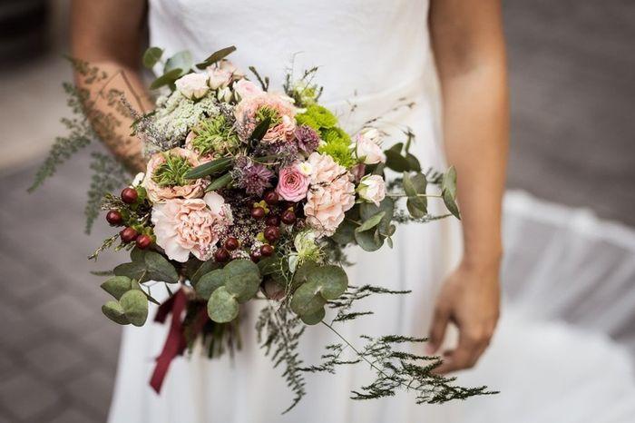 🔴 Este ramo es solo para bodas rústicas. ¿Verdad o mentira? 1