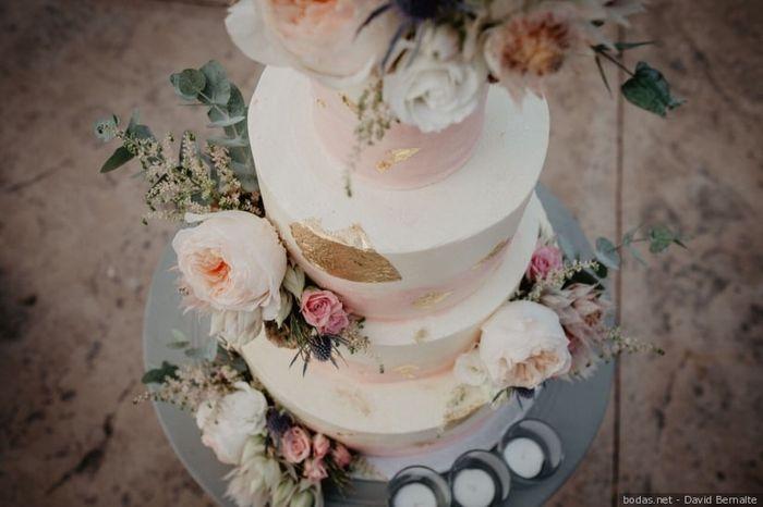 ¡8 dulces propuestas para tu tarta de bodas! 🍰 - 7