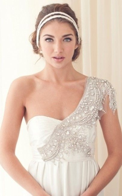 Vestidos de novia muy brillantes