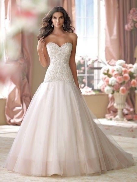 vestidos de novia david tutera for mon cheri: ¿cuál llevarías en tu
