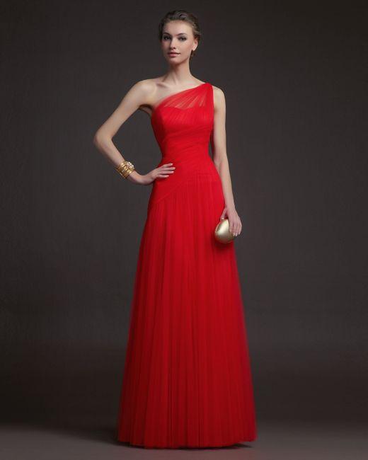 8 vestidos rojo pasión para tu look de invitada! - moda nupcial