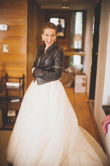 cazadoras de cuero para novias: sÍ o no? - moda nupcial - foro bodas