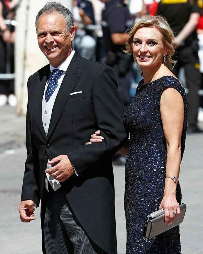 Joaquín Caparrós y esposa