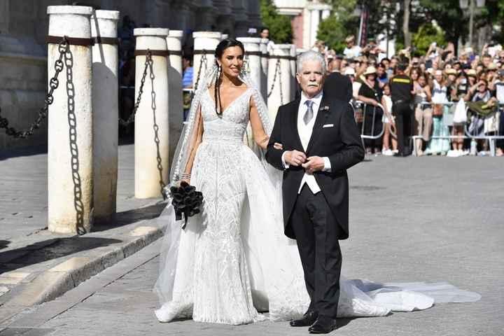 La novia y su padrino