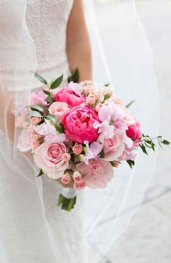¿Llevarías este ramo rosa? - 1