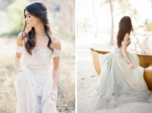 18 vestidos de novia 'off shoulder' que marcan tendencia! - moda