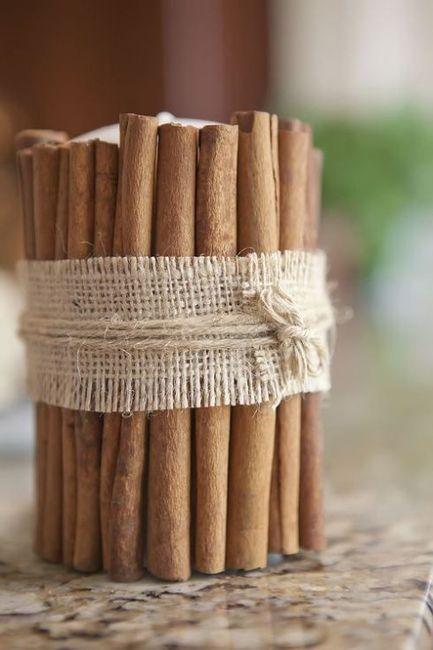 22 ideas para decorar tu boda con tela arpillera - Decorar macetas con arpillera ...