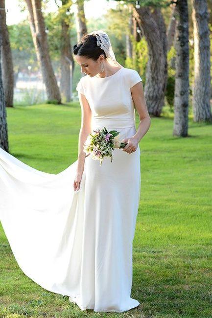 Vestidos de novia lisos y sencillos
