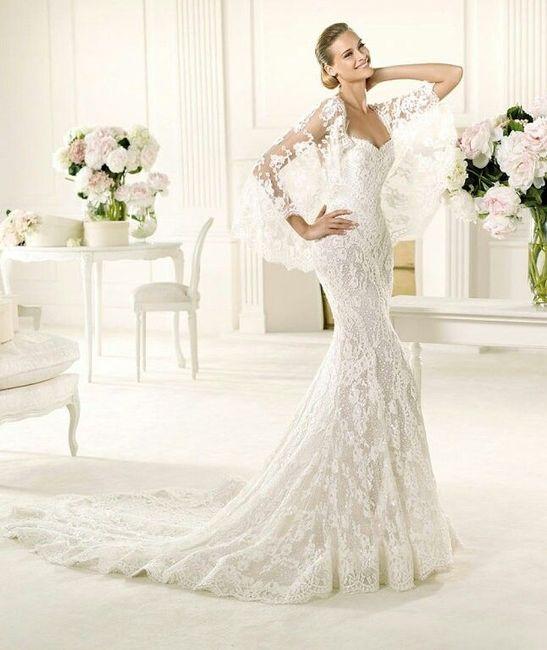 Vestido novia flamenco