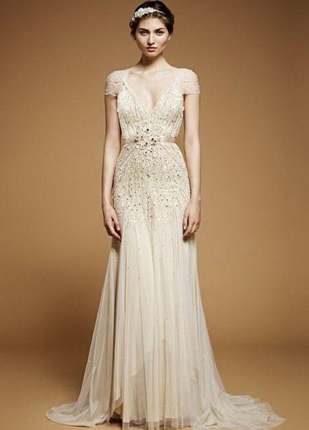 10 vestidos de novia estilo años 20: ¿cuál votas? - moda nupcial