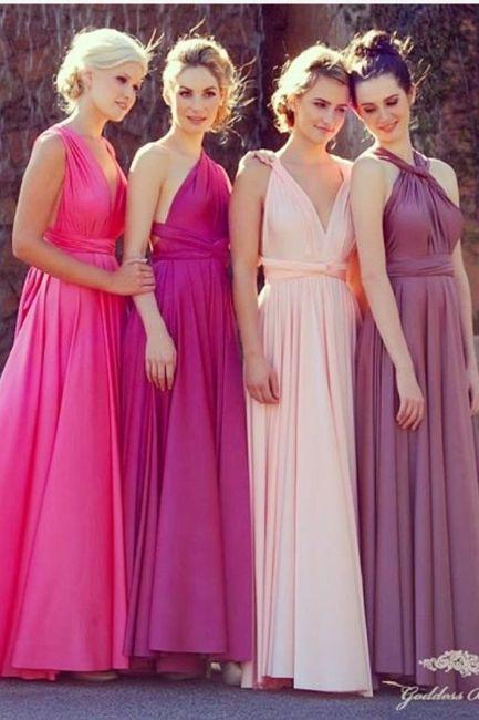 Qué damas de honor van mejor vestidas? - Moda nupcial - Foro Bodas.net