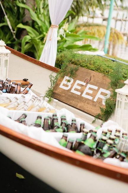 Cerveza en el casamiento? sorprendé con estas ideas! 3