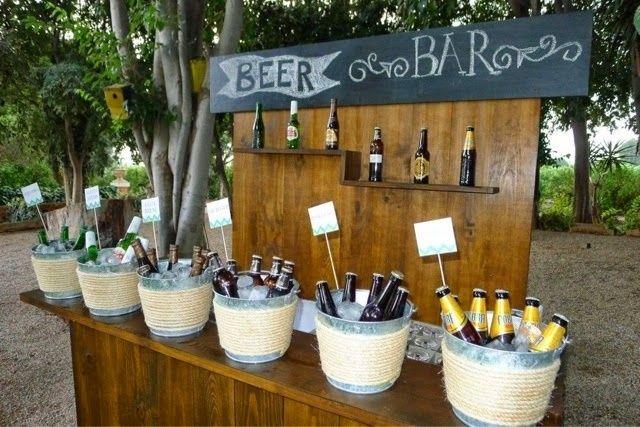 Cerveza en el casamiento? sorprendé con estas ideas! 5