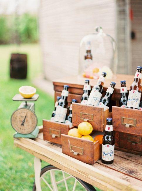 Cerveza en el casamiento? sorprendé con estas ideas! 9