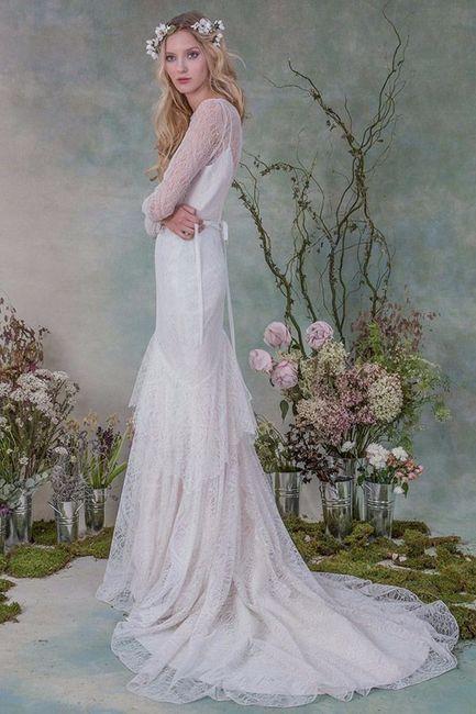 15 vestidos de novia para una boda al aire libre! - Moda nupcial ...
