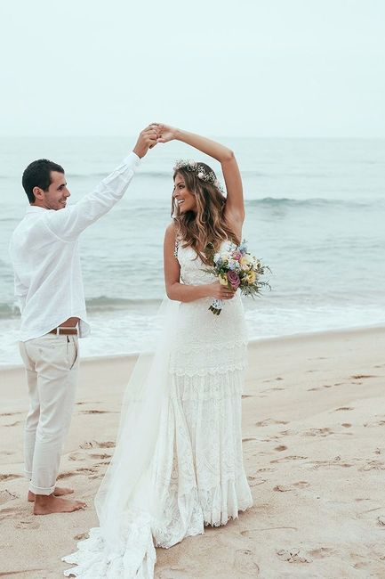 15 vestidos de novia para una boda al aire libre! - moda nupcial