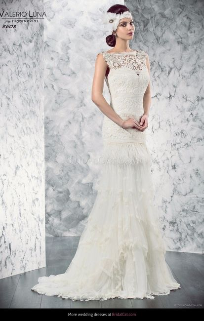 17 vestidos de novia con flecos - página 3 - moda nupcial - foro