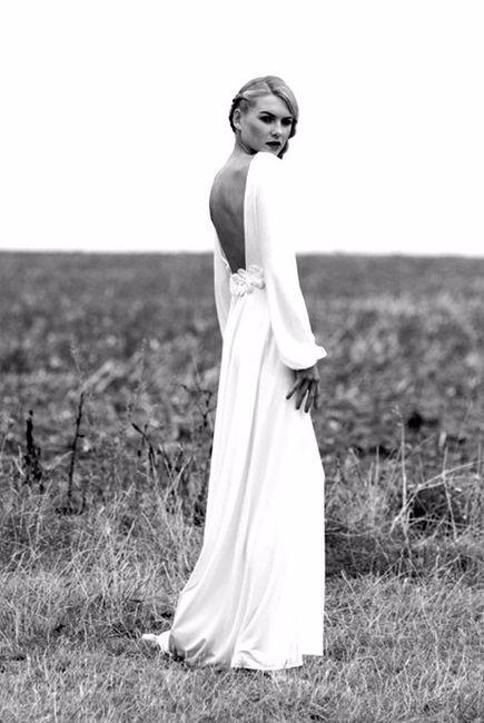 25 vestidos de novia con mangas globo - moda nupcial - foro bodas
