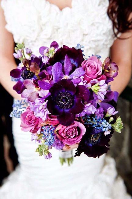 purple flowers purple flower arrangements amp bouquets - 530×796