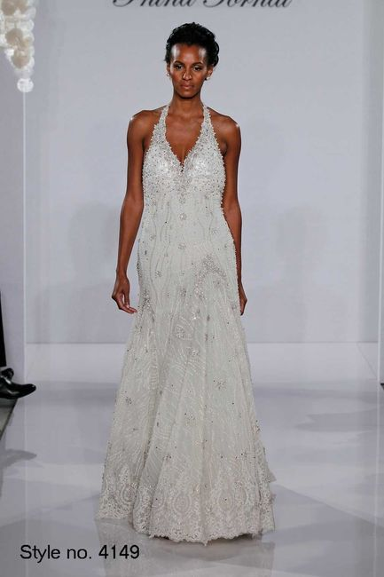 10 vestidos de novia pnina tornai: ¿cuál escoges? - moda nupcial