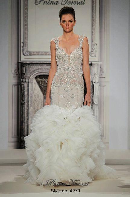 10 vestidos de novia pnina tornai: ¿cuál escoges? - página 3 - moda