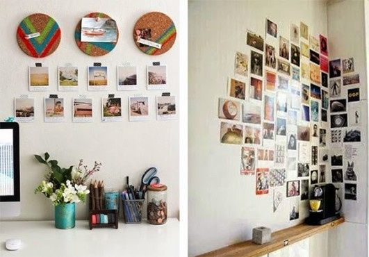 Ideas para decorar tu casa con fotos polaroid viviendo for Ideas para decorar una galeria cerrada
