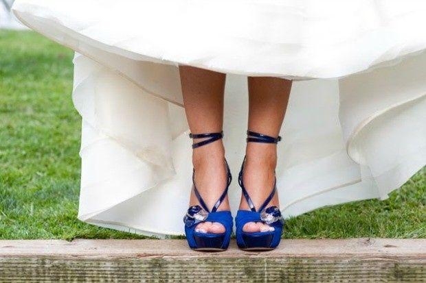 25 zapatos azules para novias - moda nupcial - foro bodas