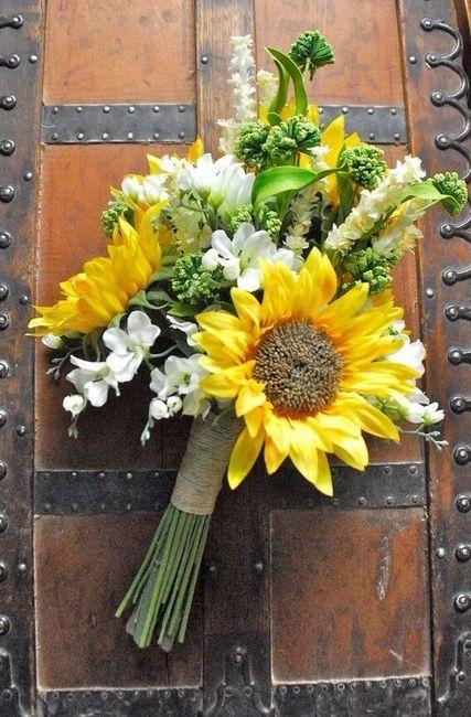 Ramos con flores silvestres