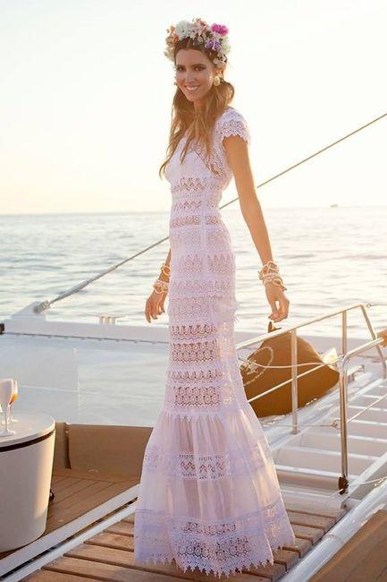 10 vestidos de novia ibicencos para dar el 'sí, quiero' - moda