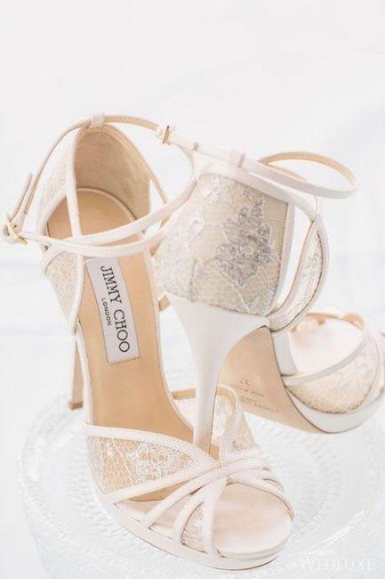 'Sí para 10 quiero' novia de el Moda nupcial Choo zapatos Jimmy RZ06qaw