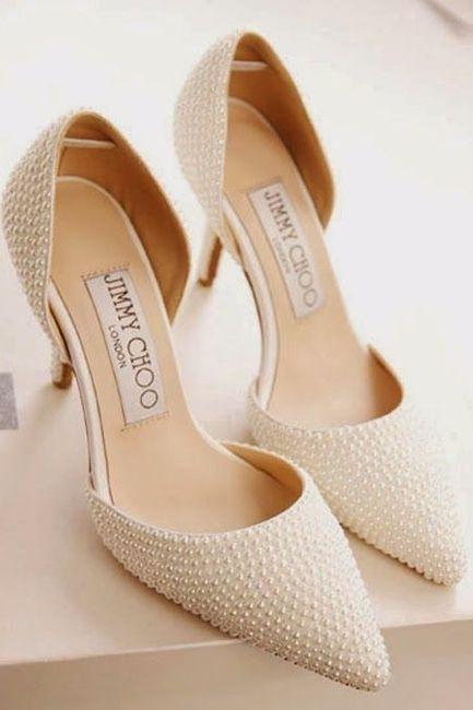 el de zapatos para Jimmy Moda 'Sí nupcial quiero' novia Choo 10 fT1qA1Y