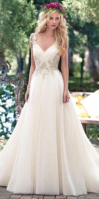 elegí tu vestido ideal para un casamiento al aire libre