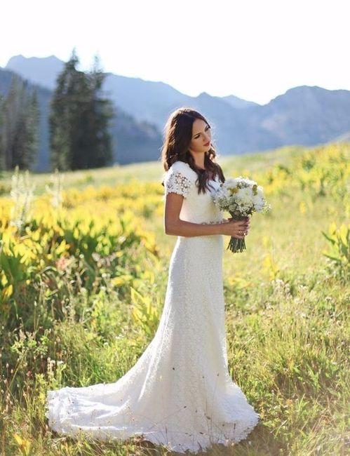 Si me casara hoy... elijo este vestido 1