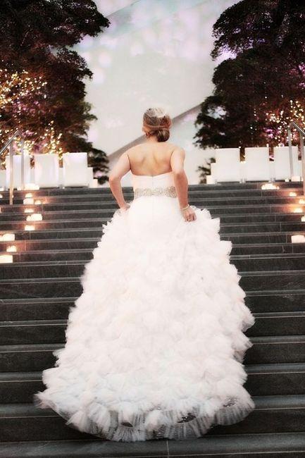 30b7aeea47 Vestido de novia princesa  Pomposo o liso