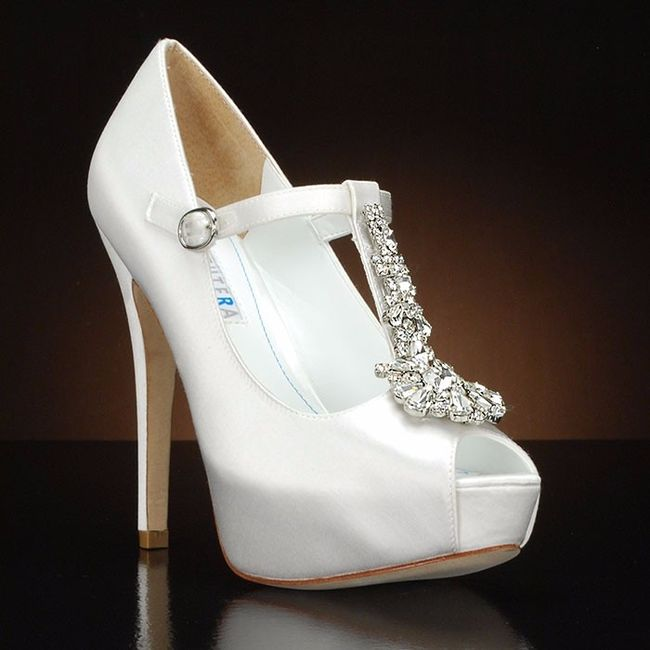 white wedding shoes 10 zapatos de novia blancos moda nupcial foro bodas net 1368