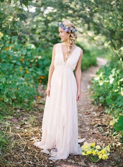 Vestidos novia de campo