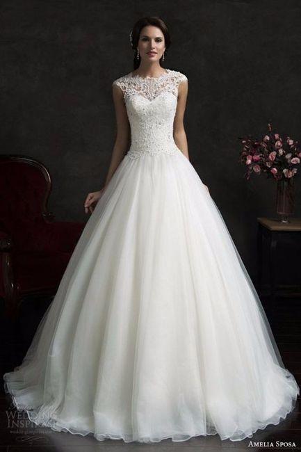 espejito, espejito, ¿cómo es mi vestido de novia ideal? - resultados