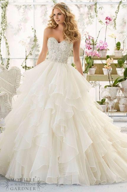 6b087c8cf TOP10 Vestidos princesa - Moda nupcial - Foro Bodas.net