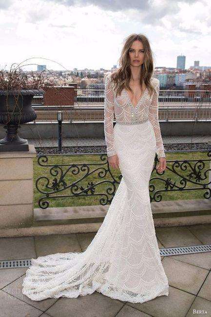 Que vestido de noiva gostas mais? 2