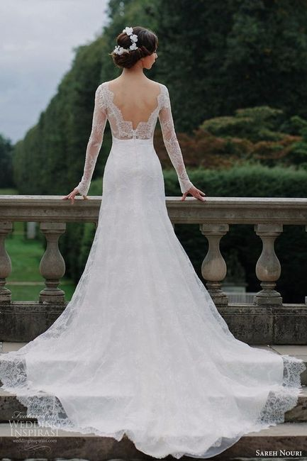 Que vestido de noiva gostas mais? 3