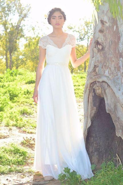 Que vestido de noiva gostas mais? 4