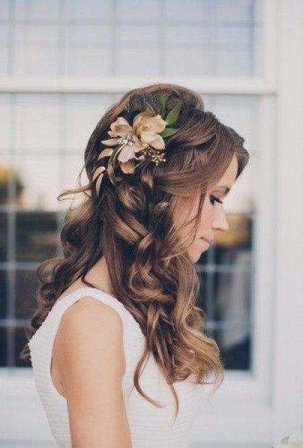 peinados semi recogidos para novias cul te hars - Recogidos De Novias