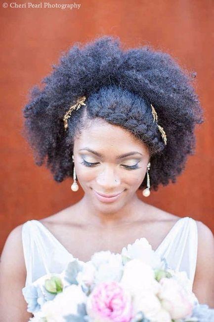 12 Peinados Para Novias Con Pelo Afro Cual Te Gusta Belleza