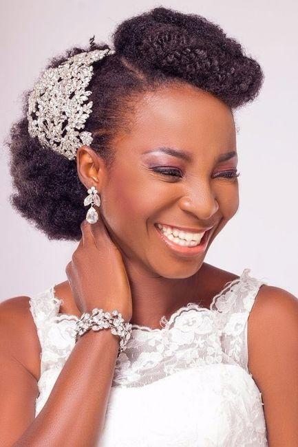 12 Peinados Para Novias Con Pelo Afro 191 Cu 225 L Te Gusta